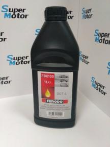 Рідина гальмівна FERODO --- FBX 100 (1л), каністр